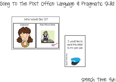 Where To Use Post Office Gift Card - going to a post office language pragmatic skills and giveaway