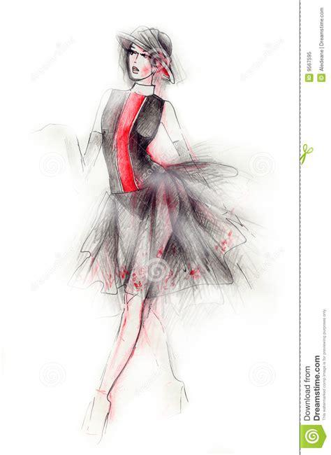 fashion illustration free fashion illustration royalty free stock photo image 9567595