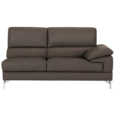 Gray Microfiber Sectional City Furniture Dash Dk Gray Microfiber Left Chaise Sectional