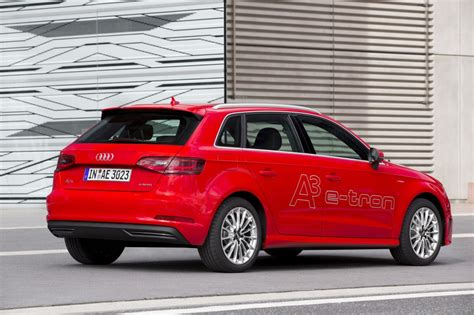 Audi A3 Hybrid by Audi A3 E In Hybrid Not A Compliance Car Exec Says
