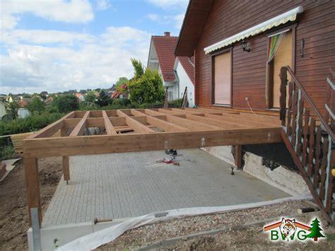 Terrasse Aus Holz Bauen by Holzterrasse Unterkonstruktion