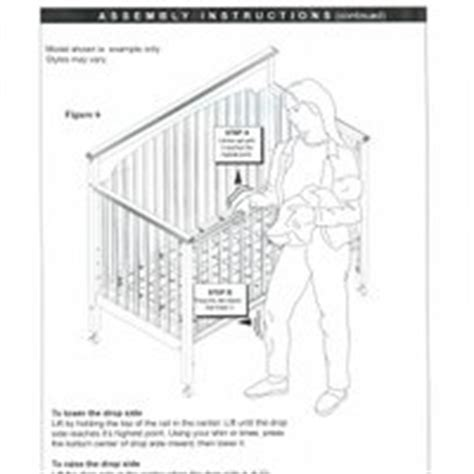 Graco Crib Manual by Graco Crib Assembly Pictures Images
