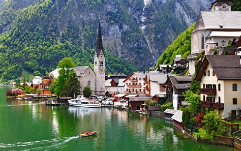 hallstatt austria fall in hallstatt austria wallpapers 2550x1600 1955606