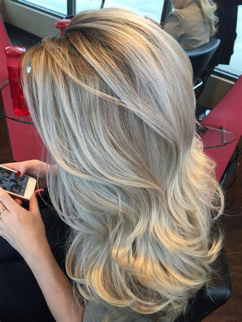 ash blond with grey highlights ashy blonde hair n stuff pinterest ashy blonde