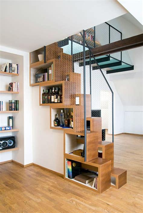 Wohnideen Treppenhaus by Treppenhaus Gestalten Offene Schr 228 Nke Stauraum Kreative