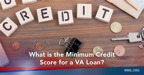 what is the minimum credit score for a va loan irrrl