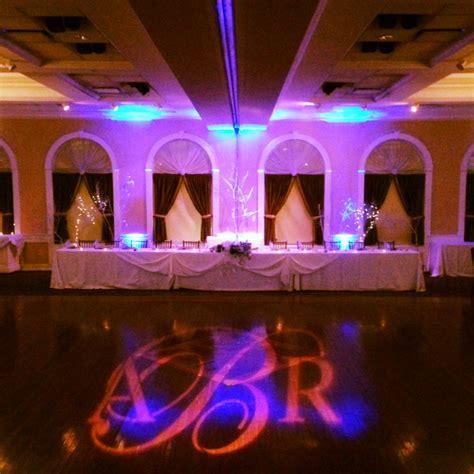 Monogram Lighting by Dj Disc Jockey Wedding Dj Monogram Lighting Albany