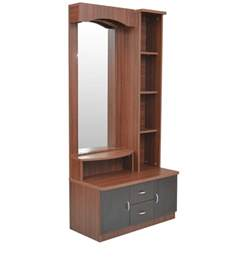 Table in wenge colour by crystal furnitech regent dressing table