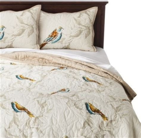 threshold bedding threshold bird quilt contemporary quilts and quilt