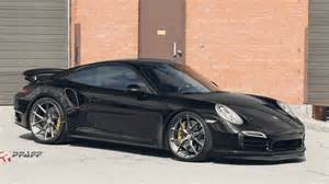 Porsche Turbo Wheels Pfaff Porsche 911 Turbo S On Hre Wheels
