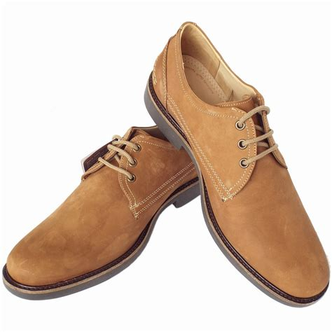 mens light brown boots anatomic co pinhal comfortable s lace up shoes in