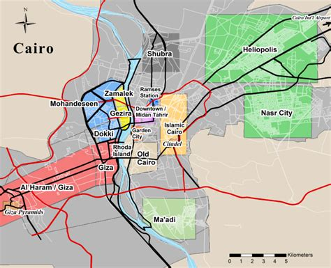 where is cairo on a map cairo the breathtaking historical city of cairo