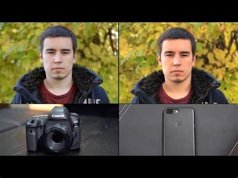 iphone 7 plus portrait mode vs canon 5d mark iv   ubergizmo