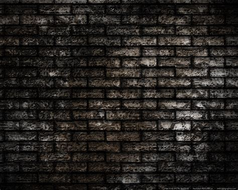 dark brick wall grunge brick wall background psdgraphics