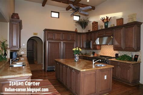 Italian Design Kitchen Cabinets Classic Italian Wooden Kitchen Cabinets Designs