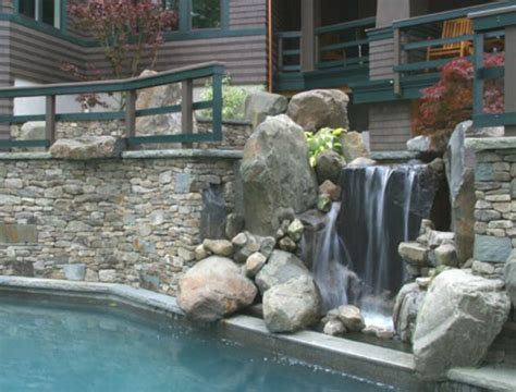 simple home waterfall design ideas beautiful homes design