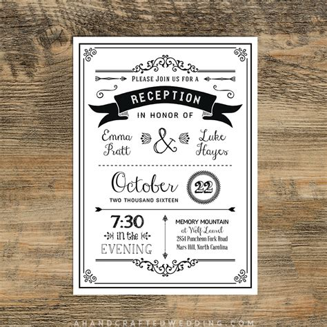 invitation wedding reception only wedding reception only invitation wording sles