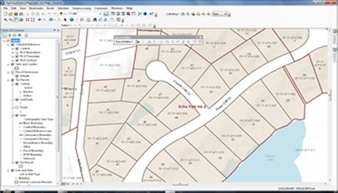 package mapping tax parcel editing arcgis for local government