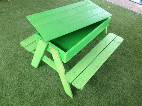 picnic table sandbox childs picnic table hillsborough fencing co ltd