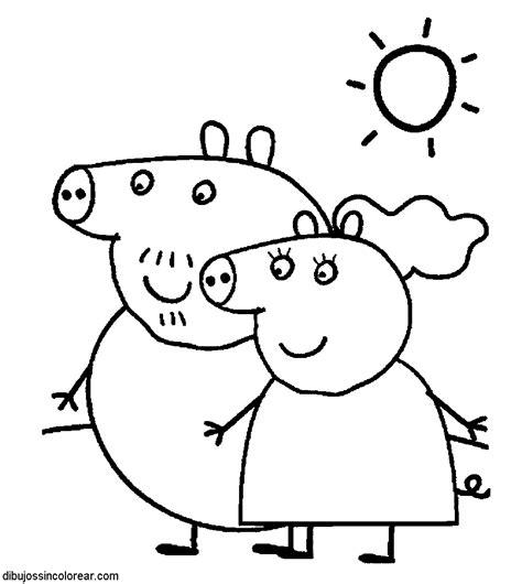 peppa pig para colorear dibujos de peppa para colorear new calendar template site