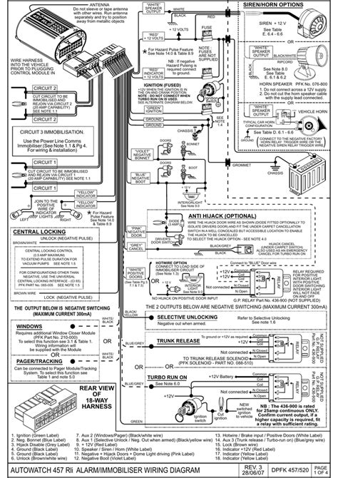 autowatch 446rli wiring diagram wiring a potentiometer for
