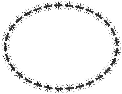 Ant Ovale clipart ant border oval