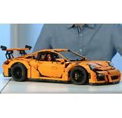 Porsche 911 GT3 RS  LEGO Technic Designer Video 42056 YouTube