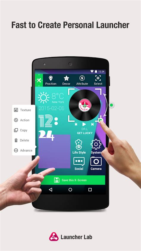 launcher lab diy themes android apps on play