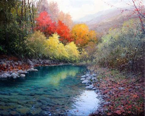 imagenes para pintar al oleo paisaje al oleo impresionista espatula y pincel paisajes