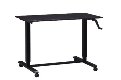 Black Friday Adjustable Height Desk Or Table Black Base Cheap Adjustable Height Desk