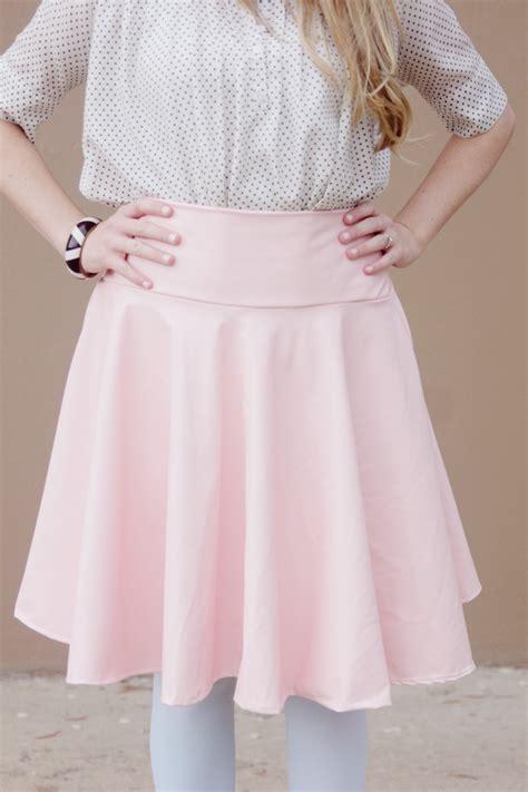 pattern free skort diy pleather circle skirt tutorial see kate sew