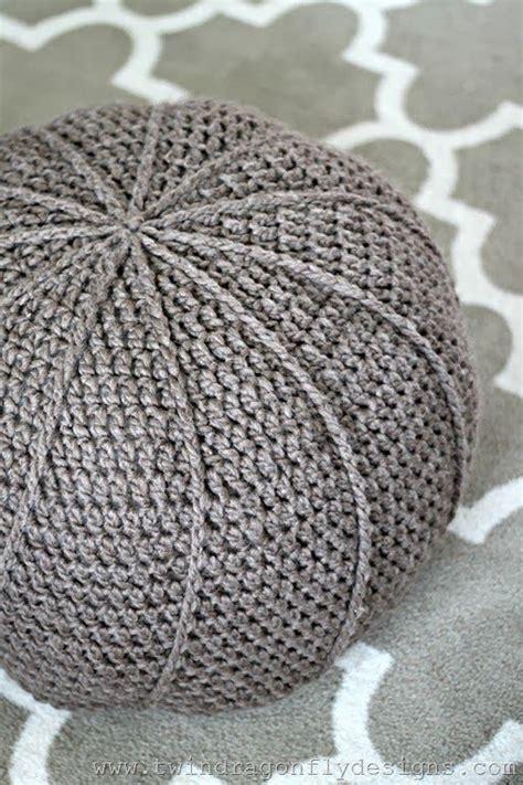 crochet ottoman pattern www twindragonflydesigns com 2014 02 free crochet floor
