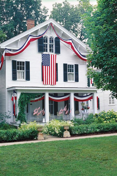 decorations to hang outside of houses americana home decor antique flags