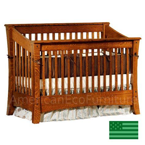 Cambria Slats Convertible Baby Crib Made In Usa Solid Usa Baby Cribs