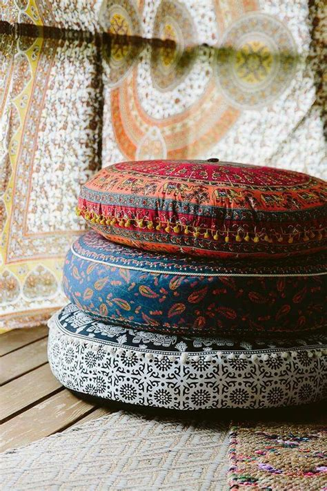 Bohemian Floor Cushions by Earthbound Trading Company Inner Hippy