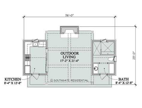 house plans with pool house guest house pool house floor plans southgate residential poolhouse