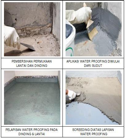 Kain Kassa Bangunan pelaksanaan pekerjaan waterproofing coating metode