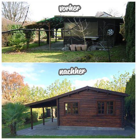 Gartenhaus Dach Renovieren by Altes Gartenhaus Umbauen My