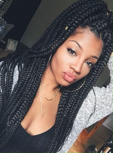 jumbo box braids black hair box braids senegalese 127 best hair images on pinterest curls curly hair and