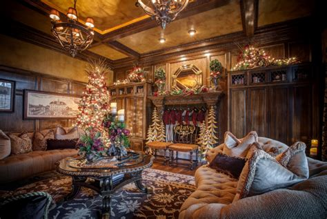 beautifully decorated homes for christmas a look at 12 rooms beautifully decorated for christmas