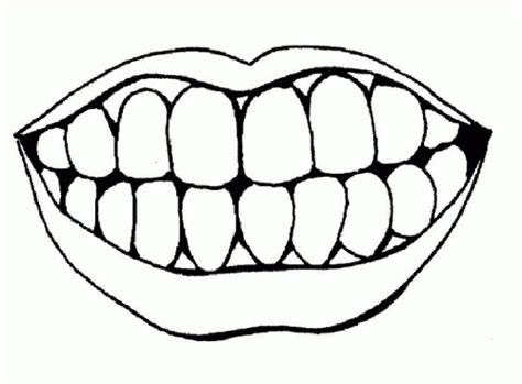 coloring pages for lips coloring pages of lips and teeth coloring pages