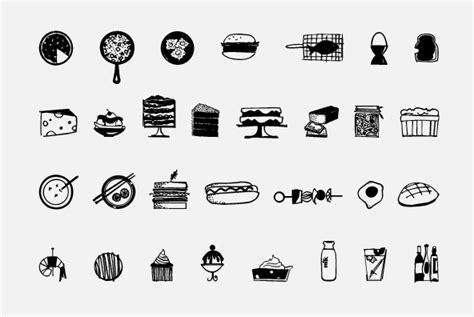 food doodle fonts food doodles desktop font webfont youworkforthem