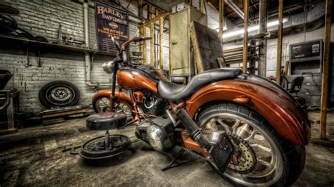 imagenes full hd de motos harley davidson en taller fondos de pantalla hd fondos