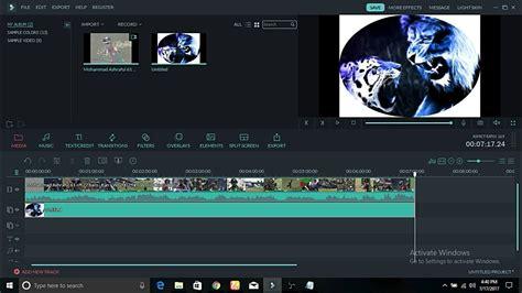 wondershare filmora green screen tutorial how to add logo in wondershare filmora new 2017 youtube