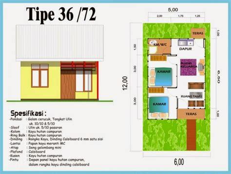 Layout Rumah Type 36 72 | desain rumah minimalis type 36 72 design rumah minimalis