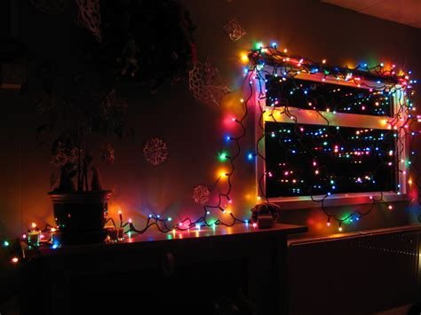 led christmas lights 7 desktop wallpaper hivewallpaper com
