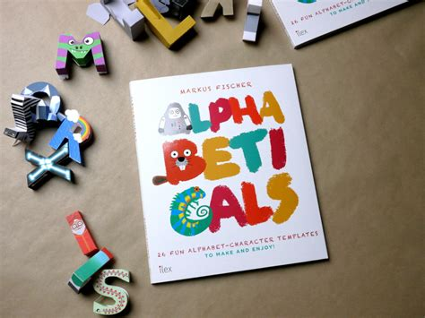 Papercraft Letters - papercraft alphabet on behance