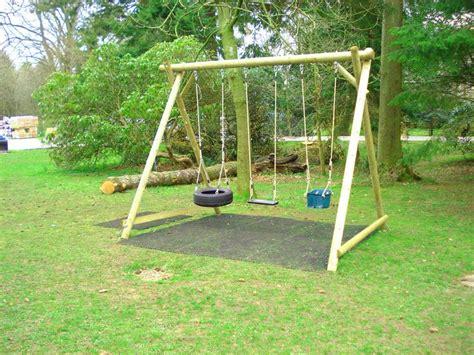 child swing frame triple swing frame hogar pinterest gardens kids