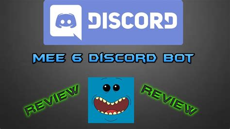 discord verification bot mee6 discord bot vorstellung review deutsch german