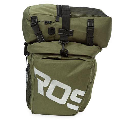 Roswheel Tas Sepeda Bag 37l 14892 roswheel 37l waterproof 3 in 1 cycling bike bicycle rear rack pannier seat bag ebay